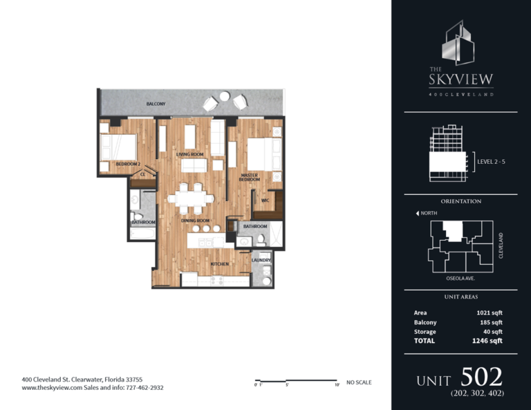 Skyview luxury condos 7- downtown Clearwater Florida