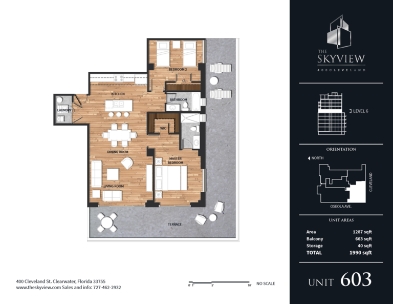 Skyview luxury condos 3 - downtown Clearwater Florida
